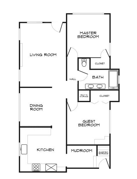 gibson floor plan