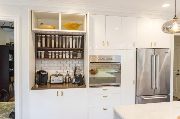 IKEA kitchen brass 2