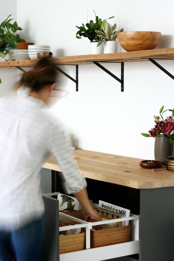 IKEA studio organization 1