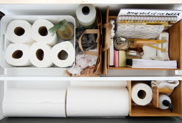IKEA studio organization 4