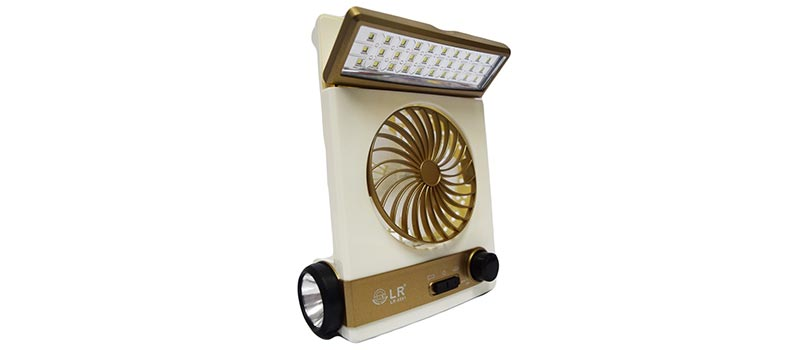 solar light fan