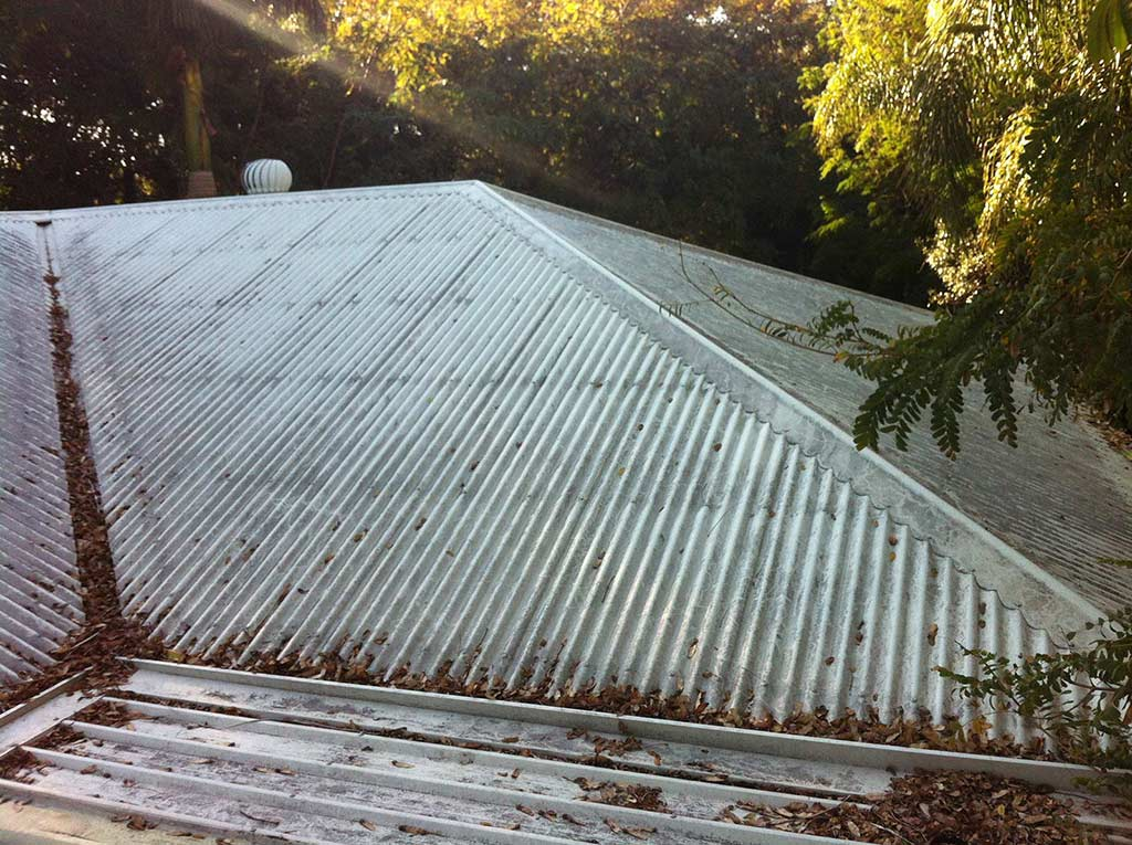 Before Roof Cleaning Brisbane