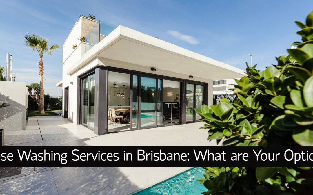 House Washing Services in Brisbane: What are Your Options?