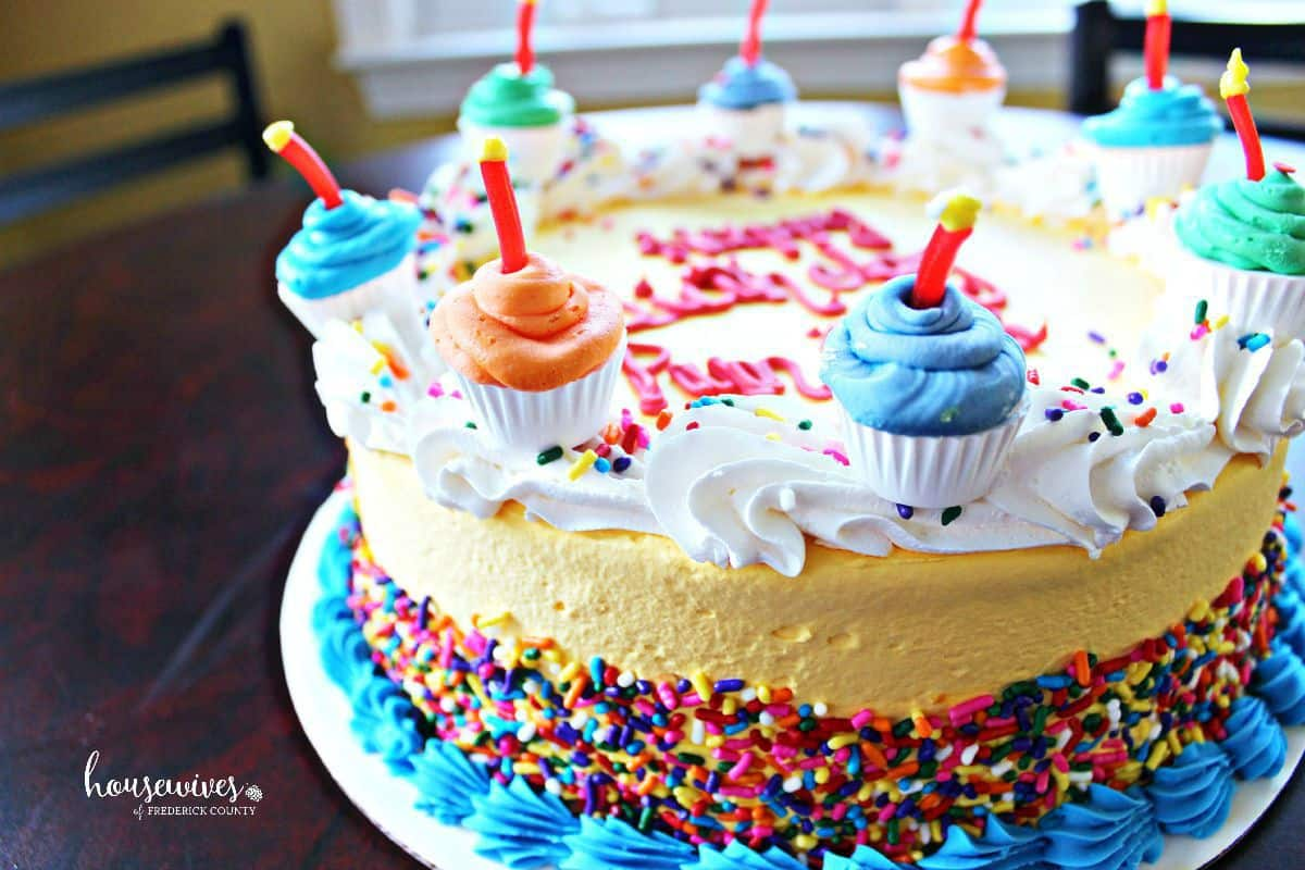 Baskin Robbins Ice Cream Cake The Magic Of Memories Housewives Of Frederick County