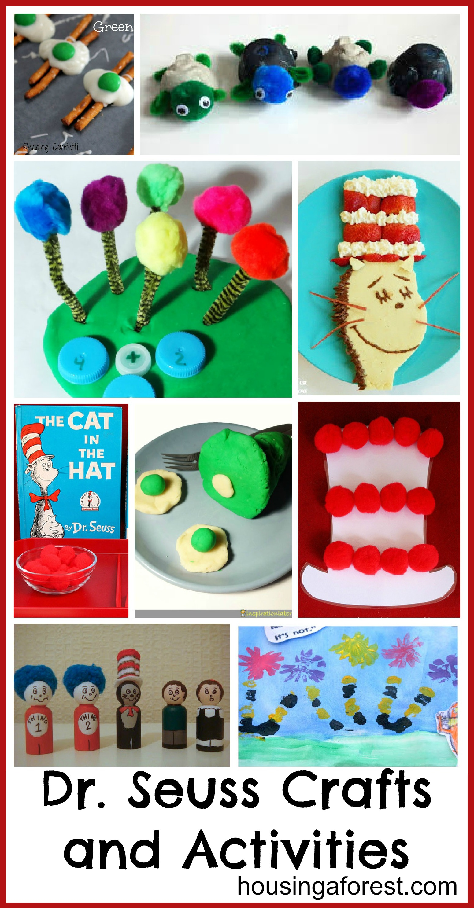 Dr Seuss Crafts And Activities