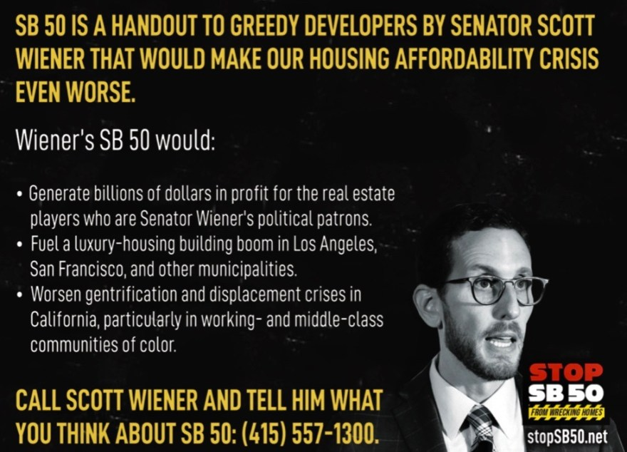 Housing Is A Human Right Scott Wiener mailer AIDS Healthcare Foundation