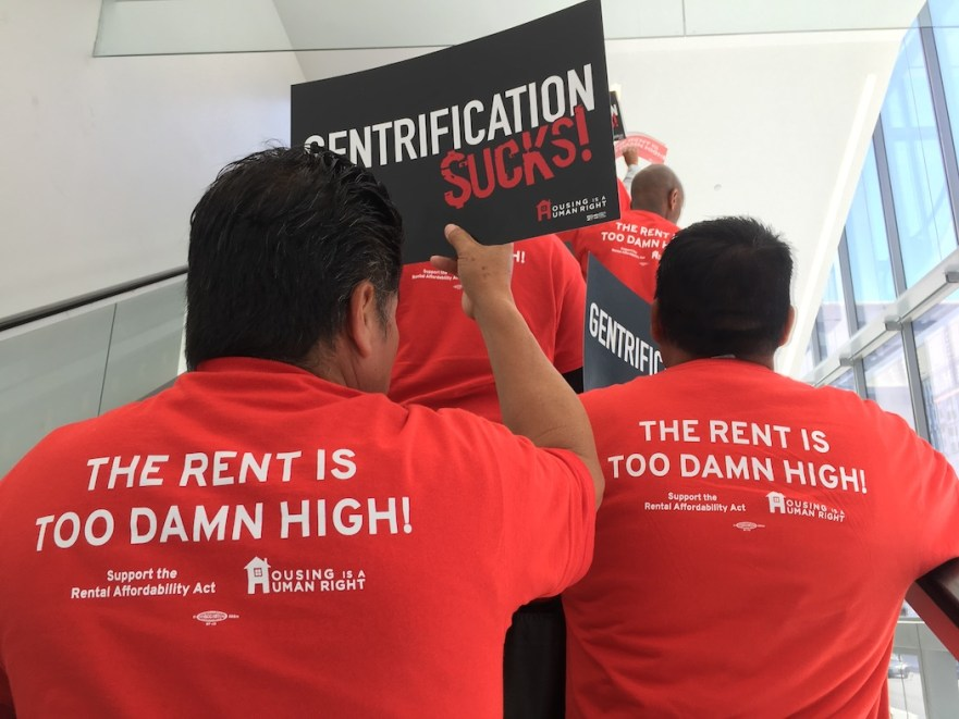 Housing Is A Human Right rent control
