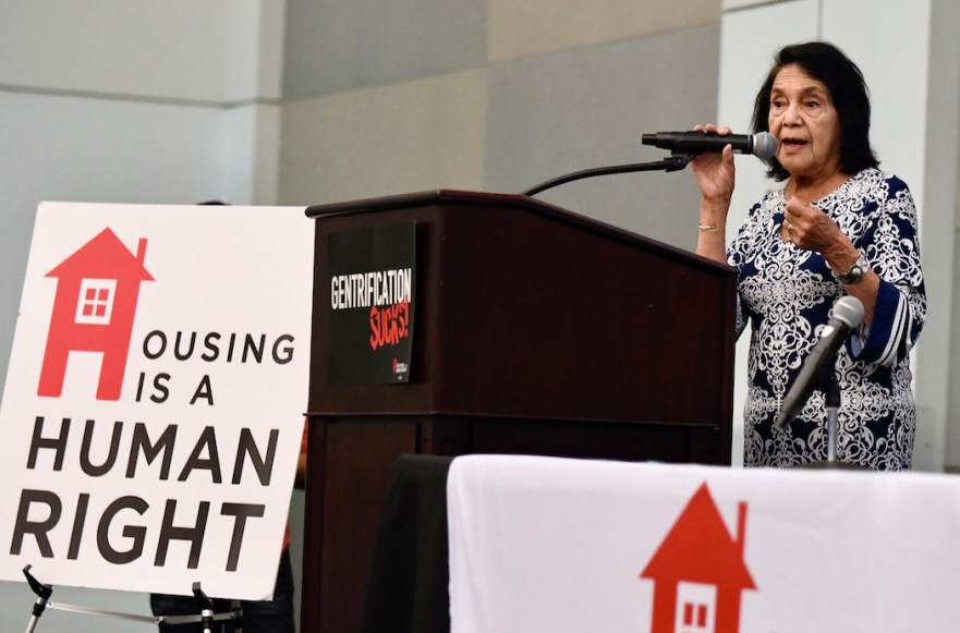 Housing Is A Human Right Dolores Huerta
