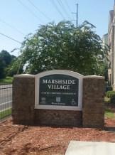 Marshside signage