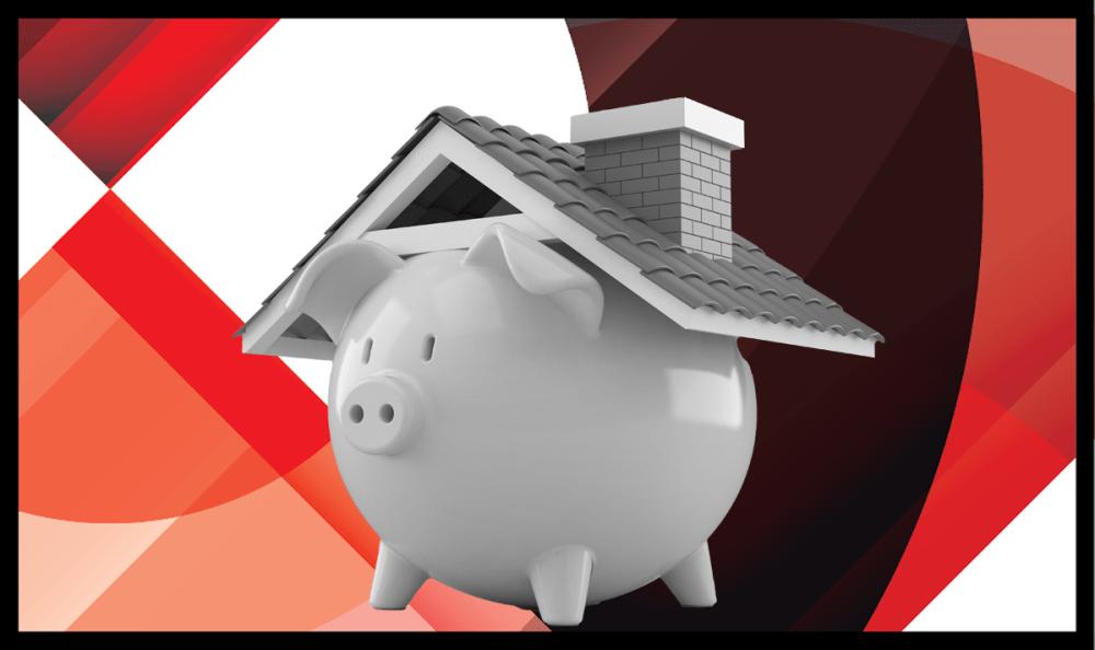 HW+ piggy bank house