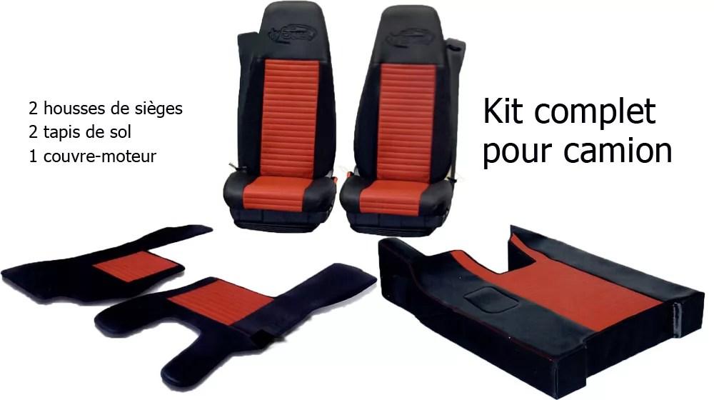 kit housses cabine daf xf 106 euro 6 2013 a aujourd hui