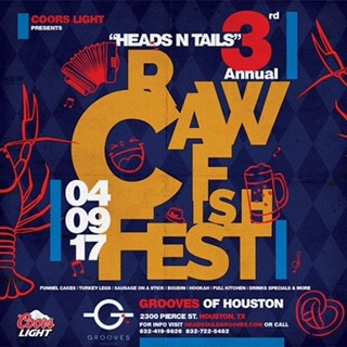 Heads N Tails – 3rd Annual Crawfish Fest – 04.09.17