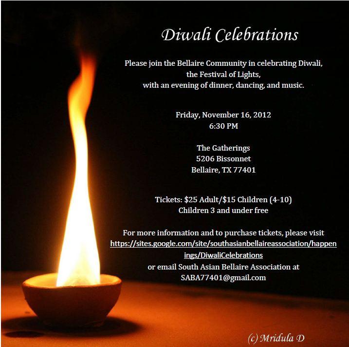Diwali  Houston