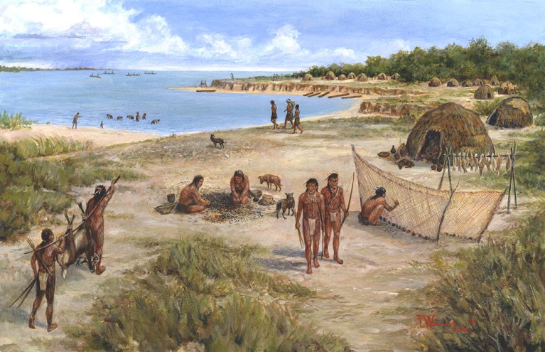 Karankawa Indians of the Texas Coast