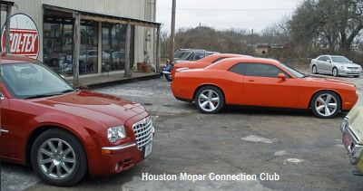 Houston Mopar Club Members At 2010 Valentines Cruise