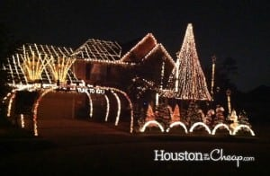 Lavender Run in Cypress, Houston Lights Display
