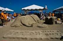 Galveston sandcastle competition