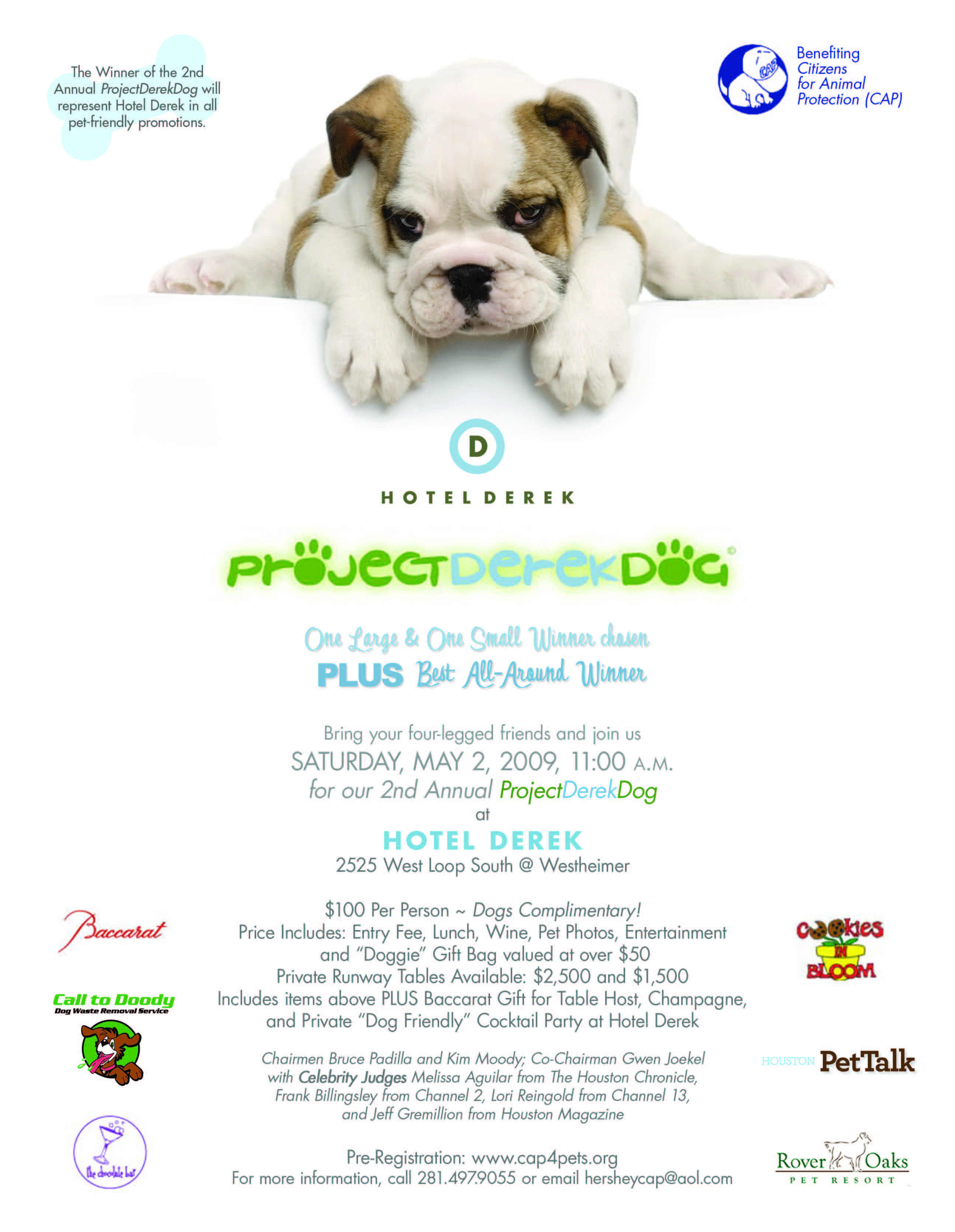 Project Derek Dog Houston – This Weekend Featuring The Pet Psychic