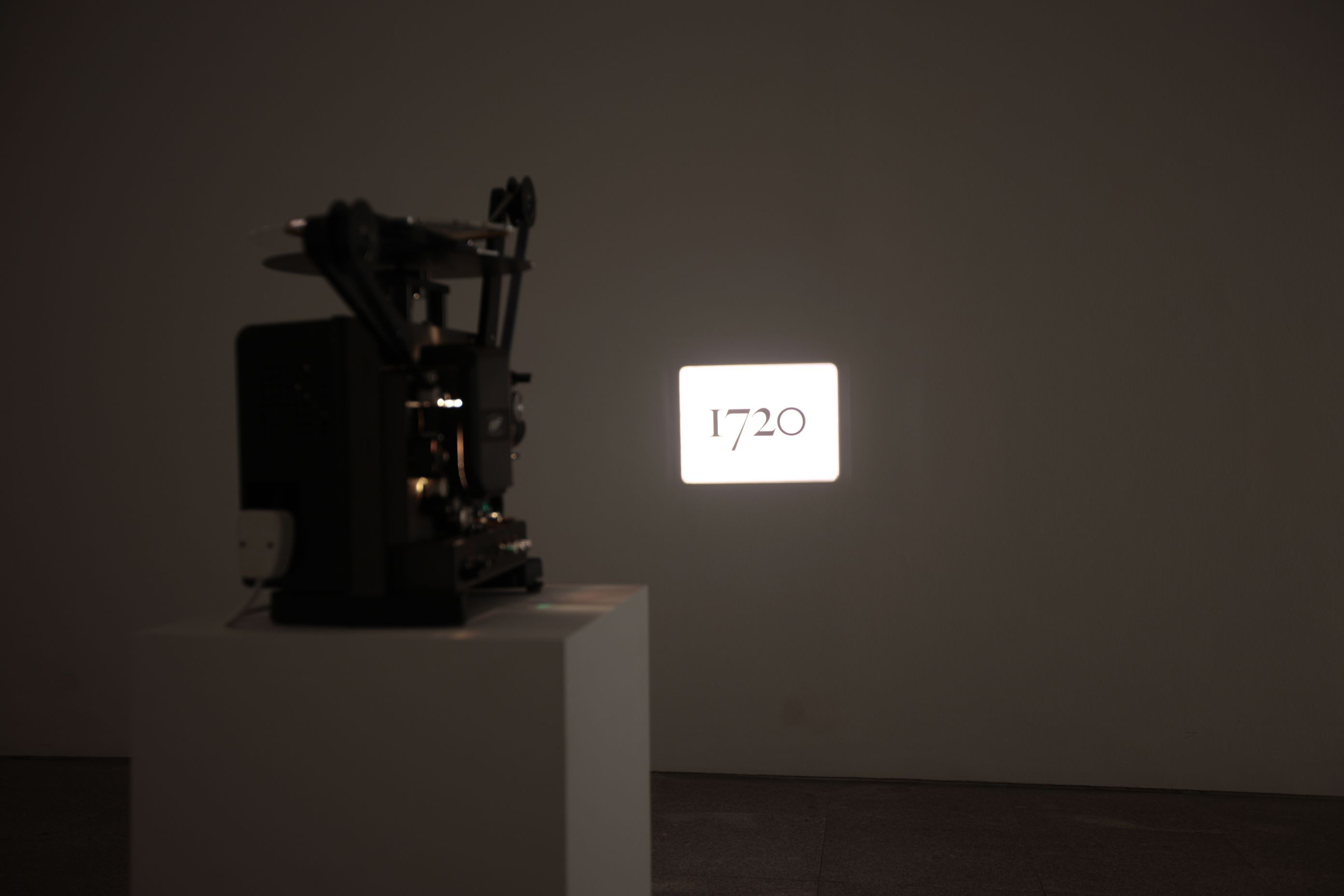 "Picture of Matthew Buckingham's ""1720"""