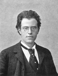 Gustav Mahler in 1892, the year before he began composing his Symphony No. 3.