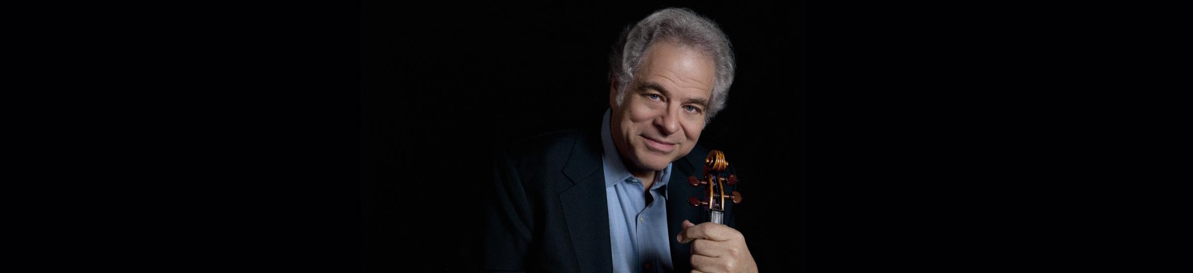 Itzak Perlman at the Houston Symphony