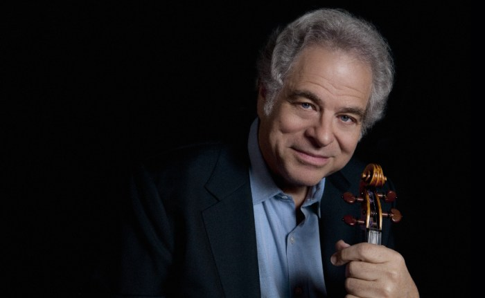 Itzak Perlman at the Houston Symphony