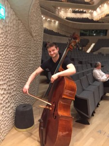 Notes from Europe: Robin Kesselman, double bass
