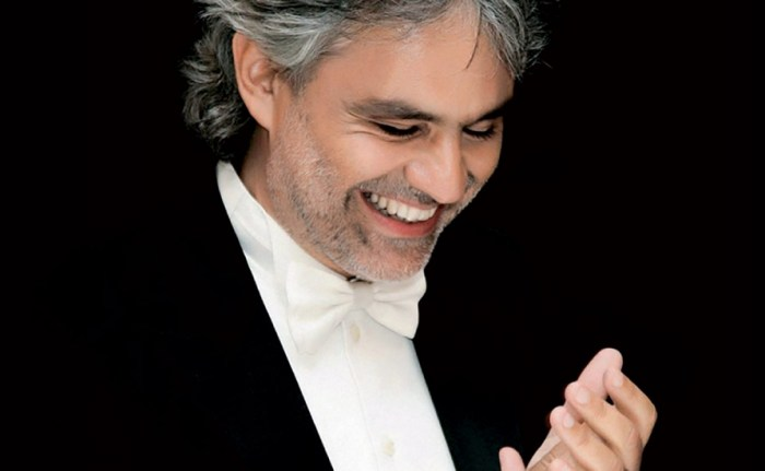 Andrea Bocelli houston