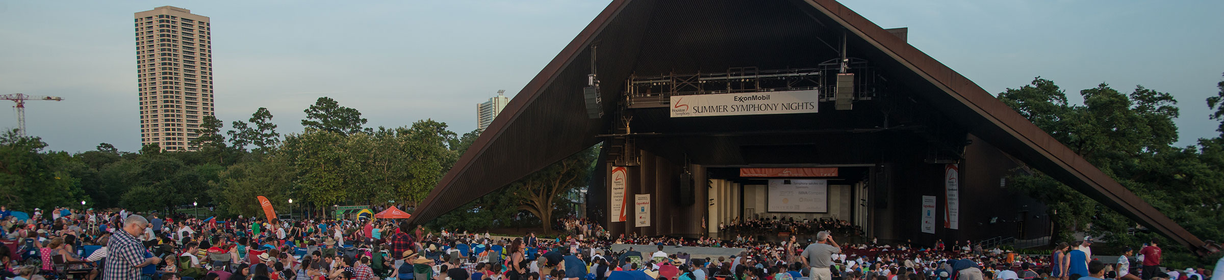 Houston Symphony Miller Outdoor Theatre