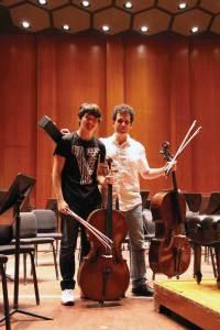 Charles Seo with Brinton Averil Smith.