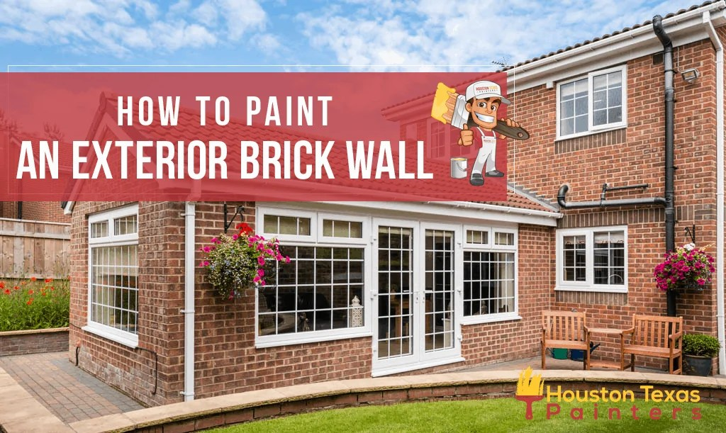 4 Effective Steps on How to Paint an Exterior Brick