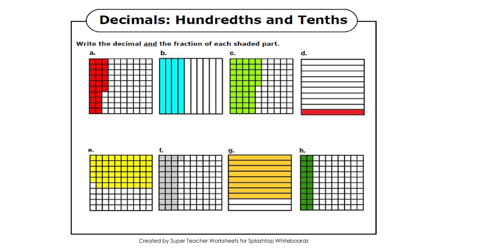 Super Teacher Worksheets Decimal Multiplication