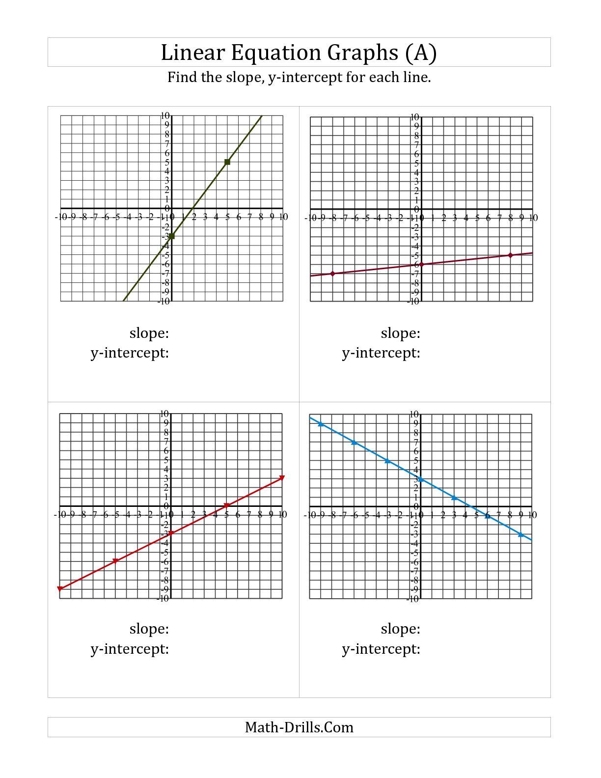 Worksheet Using Slope Formula Free Worksheets Samples