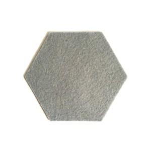 duurzaam, wasbaar en hip, mooie grijze onderzetter van vilt