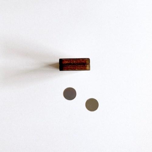 plak en klak magnetische fsc lokaal houten kaartenhouders