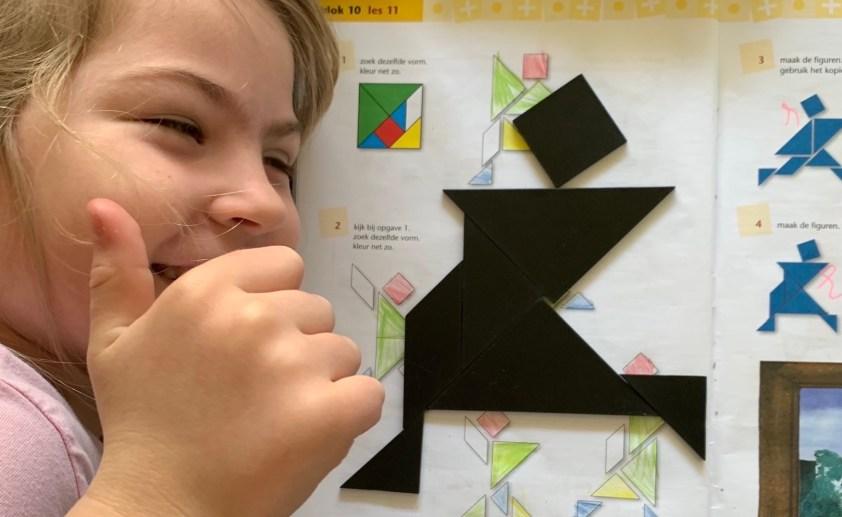 tangram - niet alleen een leuke puzzel, ook geweldig als rekenles in groep 3!