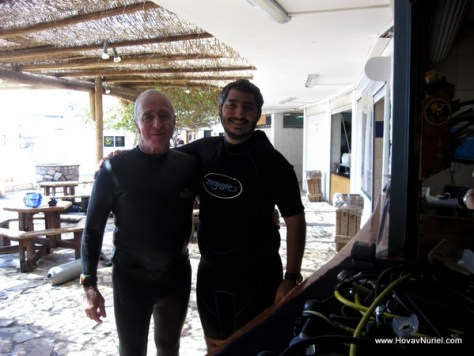 Aharon Solomns and I in Eilat [Sep-2011]