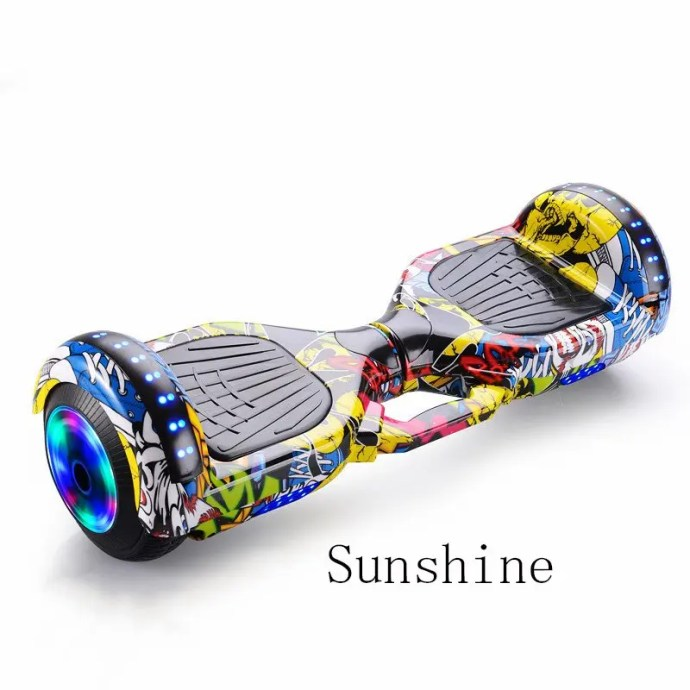 6.5 inch Smart Hoverboard Electric Balance Scooter Sunshine