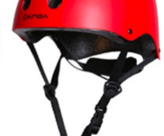 Red Medium helmet