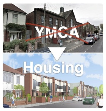 Hove YMCA replaced by housing
