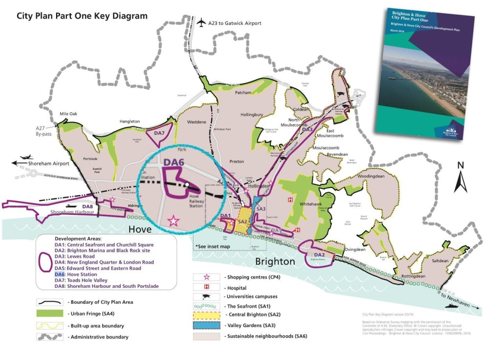 Brighton City Plan Development Areas DA6