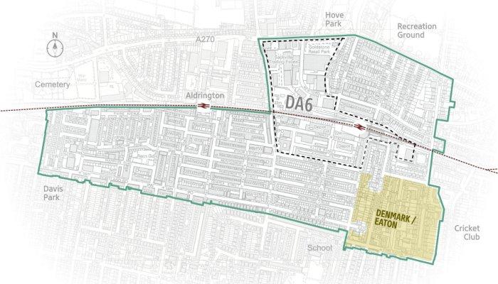 Denmark eaton map