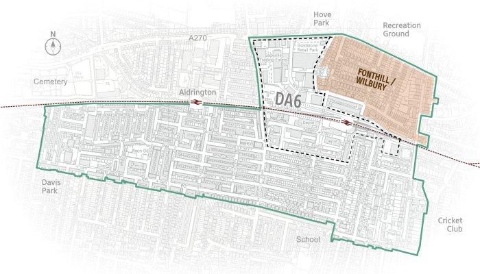 map jigsaw graphic fonthill