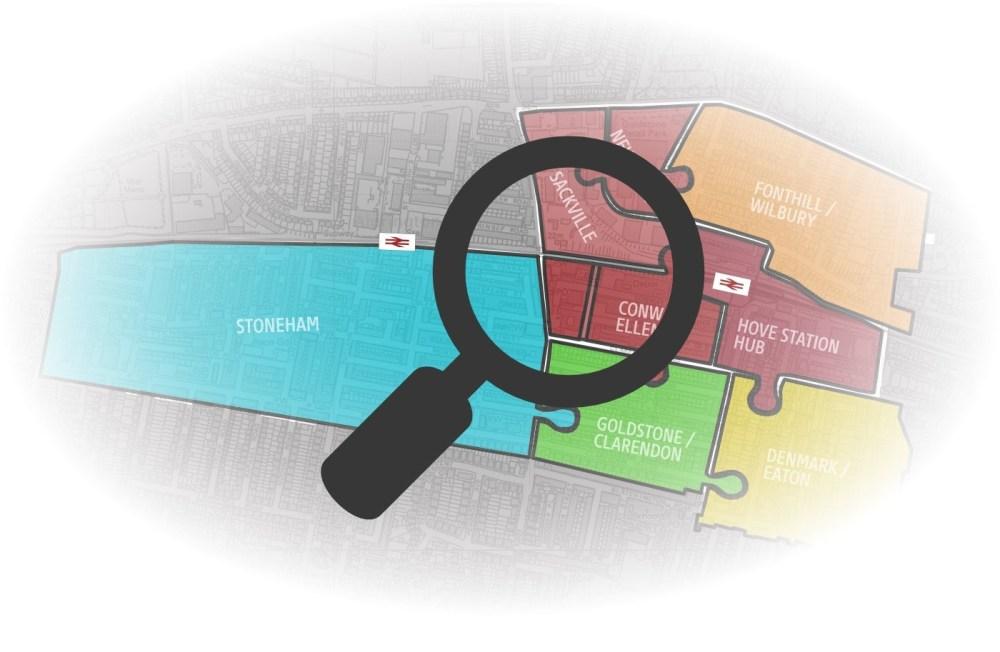 hove development map search graphic