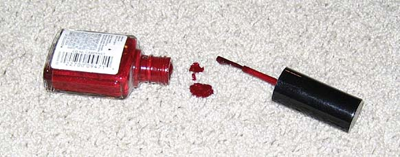 How To Remove Nail Polish From Carpet Spilled