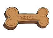 How to draw a Dog Bone