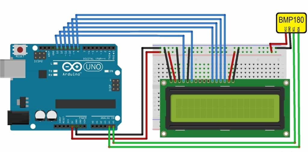 bmp180 simple?resize=760%2C375 interface bmp180 sensor with arduino to measure pressure & temperature