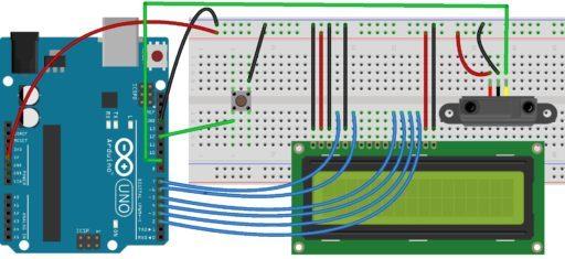 Digital Tachometer using IR Sensor with Arduino