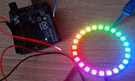 Interfacing NeoPixel LED Strip WS2812B with Arduino for Rainbow Color