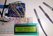 Interfacing Multiple DS18B20 Temperature Sensors to Arduino